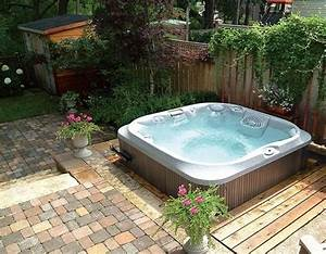whirlpool fur aussen garten halb einbau outdoor lounge With jacuzzi für draußen