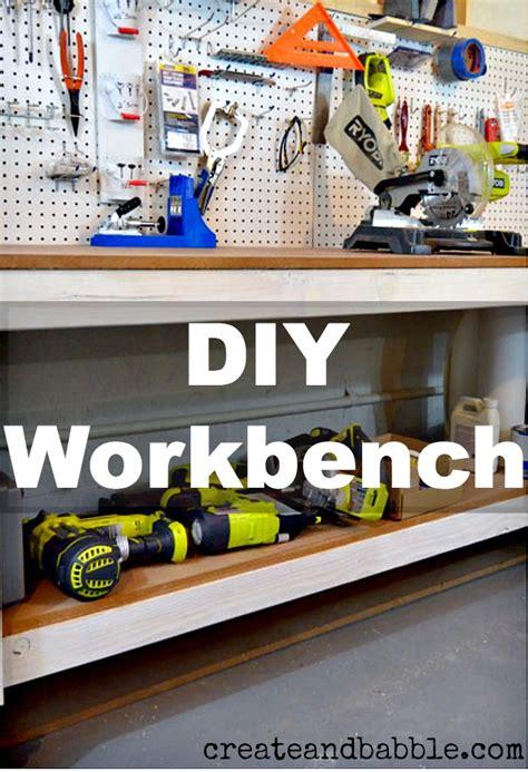diy workbench create  babble