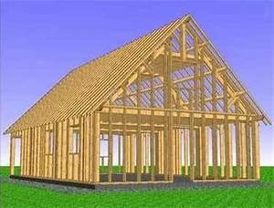 Charpente Traditionnelle Bois En Kit : charpente traditionnelle en kit maison ossature bois ~ Premium-room.com Idées de Décoration