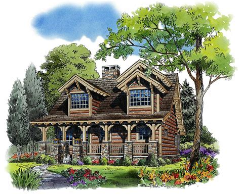 Two Bedroom Cottage House Plans by Rustic 4 Bedroom Cottage 11536kn Architectural Designs