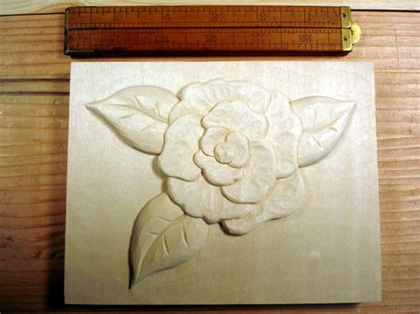 small floral carving