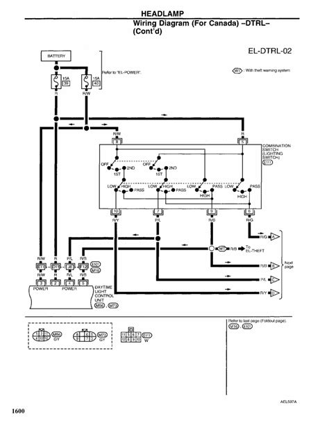 1997 Nissan Altima Wiring Diagram by Repair Guides Exterior Lighting 1997 Headlights