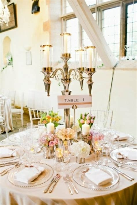 idees decoration table mariage printemps original