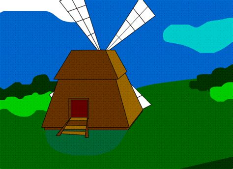 Windmill Wallpaper Animated - windmill animation by miebk on deviantart