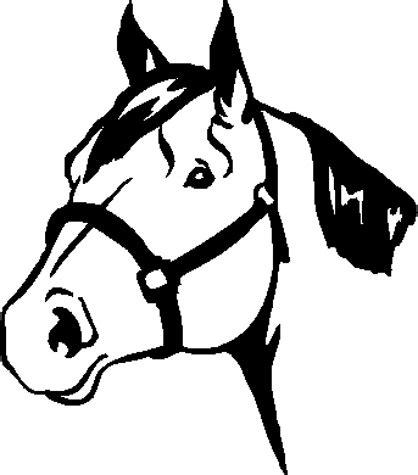 quarter horse head clip art clipground