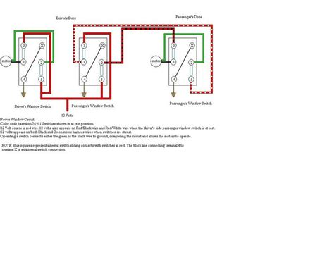 power window switch schematic pelican parts forums