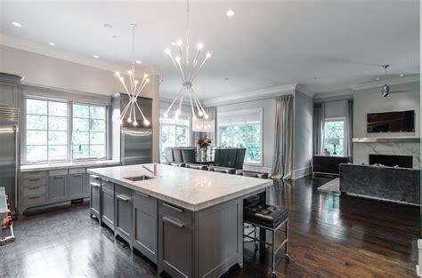 Gray Kitchen Cabinets   Modern   kitchen   Pricey Pads