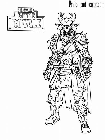 Fortnite Coloring Pages Crackshot Drift Battle King