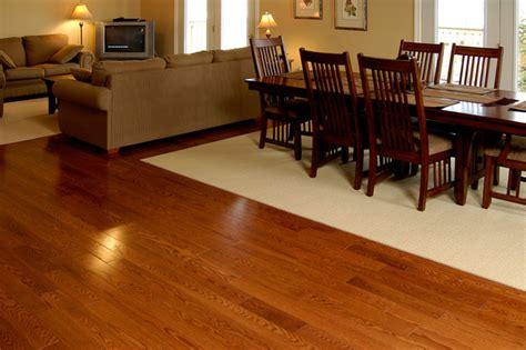 gunstock oak flooring kitchen relaxed atmosphere