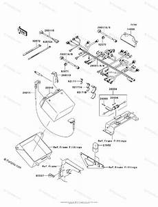 Kawasaki Atv 2007 Oem Parts Diagram For Chassis Electrical