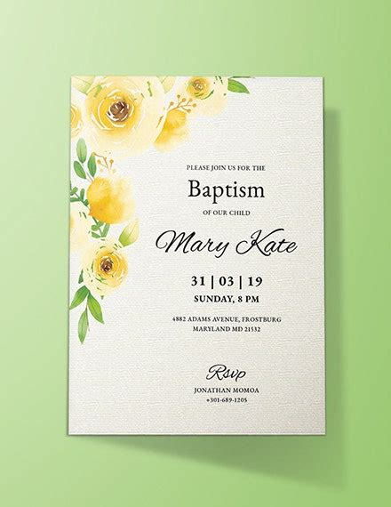 11+ Invitation Card Template Examples PSD AI Free