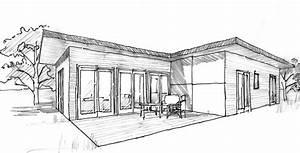 Plan Maison Japonaise : plan maison 80 m contemporaine ooreka ~ Melissatoandfro.com Idées de Décoration