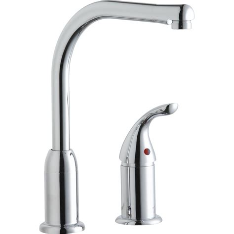 elkay kitchen faucet elkay single handle deck mount kitchen faucet with remote