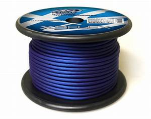 Xs Flex Blue 8awg Cable