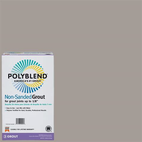custom building products polyblend 542 graystone 10 lb