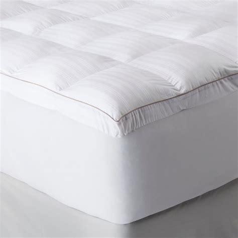 fiber mattress topper fieldcrest luxury memory fiber mattress topper white ebay