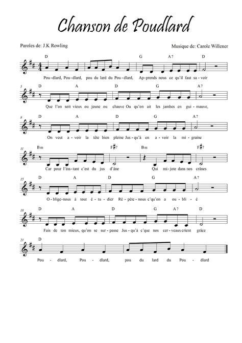 partition piano musique moderne bonjour 224 tous avec ma classe de 5 232 me primaire en musique je travaille autour de harry potter