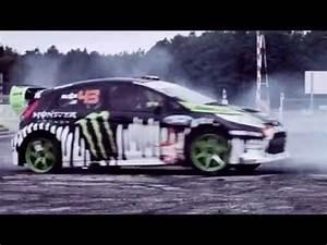 Ford Fiesta Monster Energy Drift Ken Block Drifting ...
