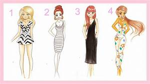 Drawing Tutorial | 4 SUMMER OUTFITS u2661 - YouTube
