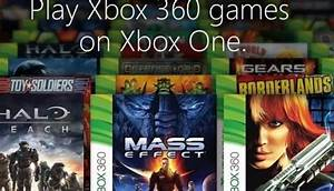 Xbox One Backwards Compatibility List To Be Revealed