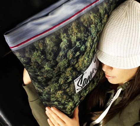 giant weed bag pillowcase