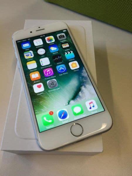 Apple Iphone 6 64gb Silber In Essen West Holsterhausen Apple Iphone Gebraucht Kaufen Ebay