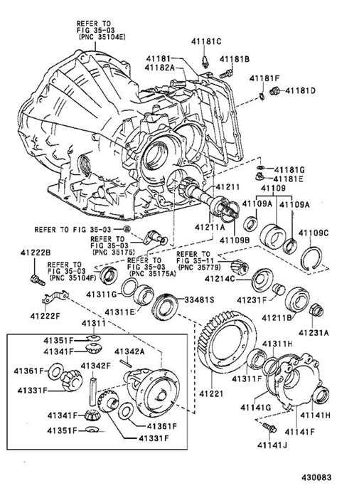 Toyota Corolla Manual Transmission Differential