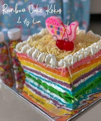 136 resep sponge cake kukus ala rumahan yang mudah dan enak dari komunitas memasak terbesar dunia. Rainbow Cake Kukus ala Ny. Liem | Resep | Resep, Kue, Gula