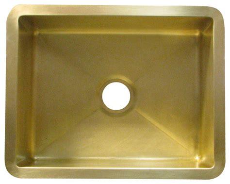 Brass Bar Sink Contemporary Bar Sinks Other Metro