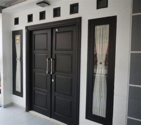 model pintu rumah minimalis pekanbaru interior