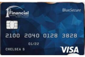 Bank secured visa® card is perfect for a first time credit card or a credit card for building credit and for rebuilding credit. 1st Financial Federal Credit Union Visa Blue Secure Card Reviews (Dec. 2020)   Personal Credit ...