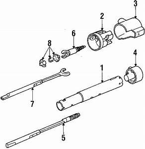 Chevrolet Camaro Steering Column Cover  Tilt  Wheel