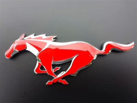 mustang light up pony emblem ford mustang emblem aka quot the pony quot badgeskin