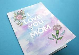 DIY Crafted Mother's Day Card | Do it yourself ideas and ...