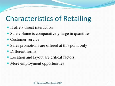 Qualities For A In Retail by Indian Retail Ppt
