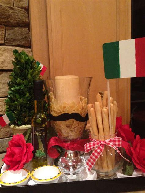 italian table decorations ideas  pinterest