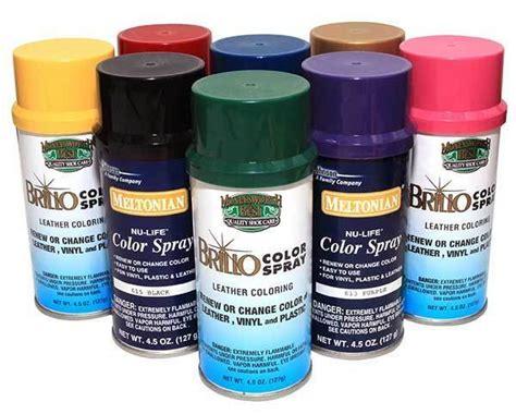 spray colors new color spray leather plastic vinyl paint dye 4 5 oz
