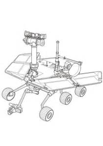 Curiosity Mars Rover coloring page   Free Printable ...
