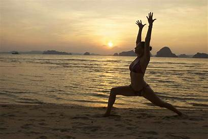 Yoga Beach Desktop Wallpapers