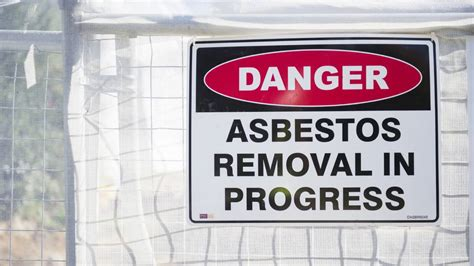 fairfield city council warns  asbestos