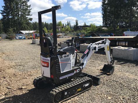 bobcat  micro compact excavator  lbs class sherlock equipment