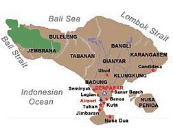 bali honeymoon regions
