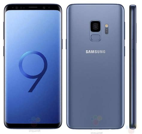 samsung galaxy s9 samsung galaxy s9 s9 leaks reveal renders and