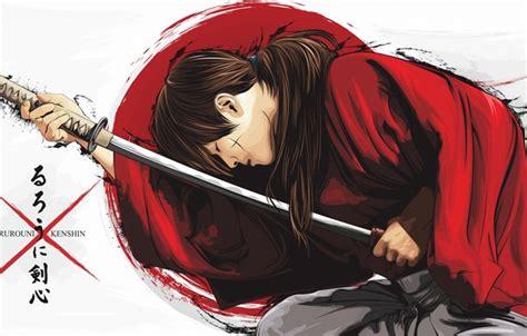 Samurai Anime Wallpaper - обои аниме арт самурай парень rurouni kenshin картинки