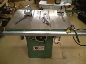 grizzly table cabinet saw 3hp 220v 10 with accesories ebay