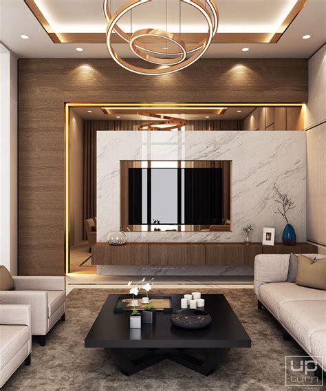 Wandgestaltung Wohnzimmer Modern by Luxury Modern Villa Qatar On Behance Interiors In 2019