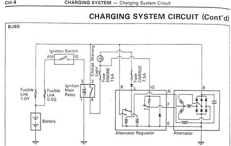 toyota alternator regulator wiring diagram pdf toyota