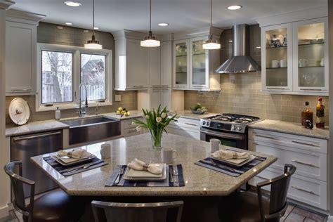 corner kitchen island tremendous corner kitchen island with seating also light gray glass subway tile for kitchen