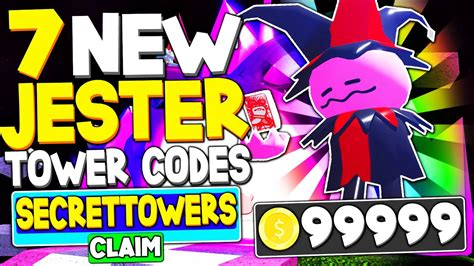 Tower heroes is a roblox sport in which gamers move up towards waves of enemies with a protection of specific towers. NEW 7 *SECRET JESTER* TOWER CODES in TOWER HEROES (ROBLOX ...