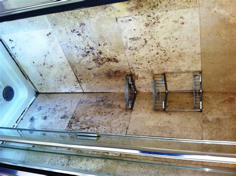 Bathroom Shower Tile Problems by Problems With Travertine In Shower Greater Manchester